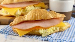 Freezer Breakfast Croissant Sandwiches
