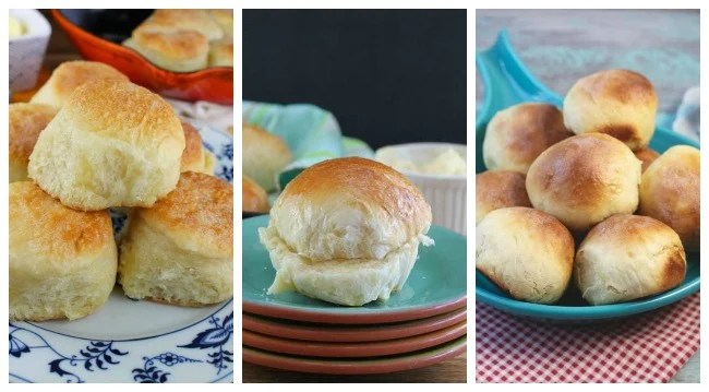 Dinner rolls for holiday dinners