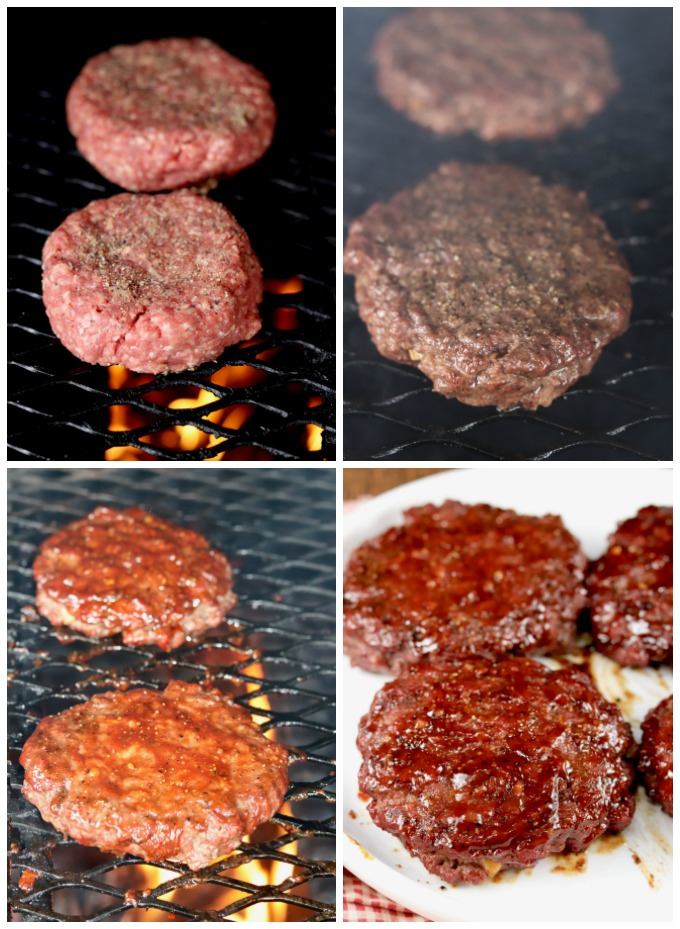 grilling barbecue burgers