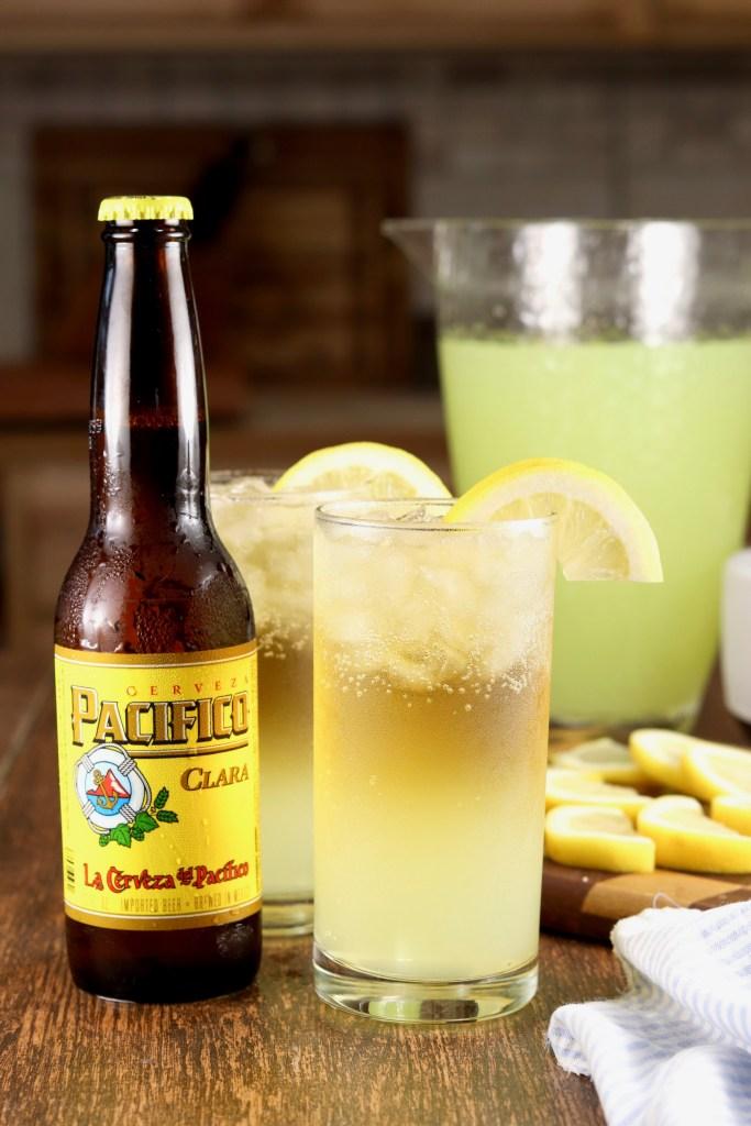 Lemon Shandy cocktail