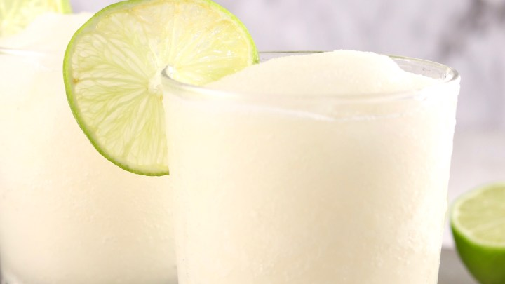 Frozen Daiquiri with fresh lime