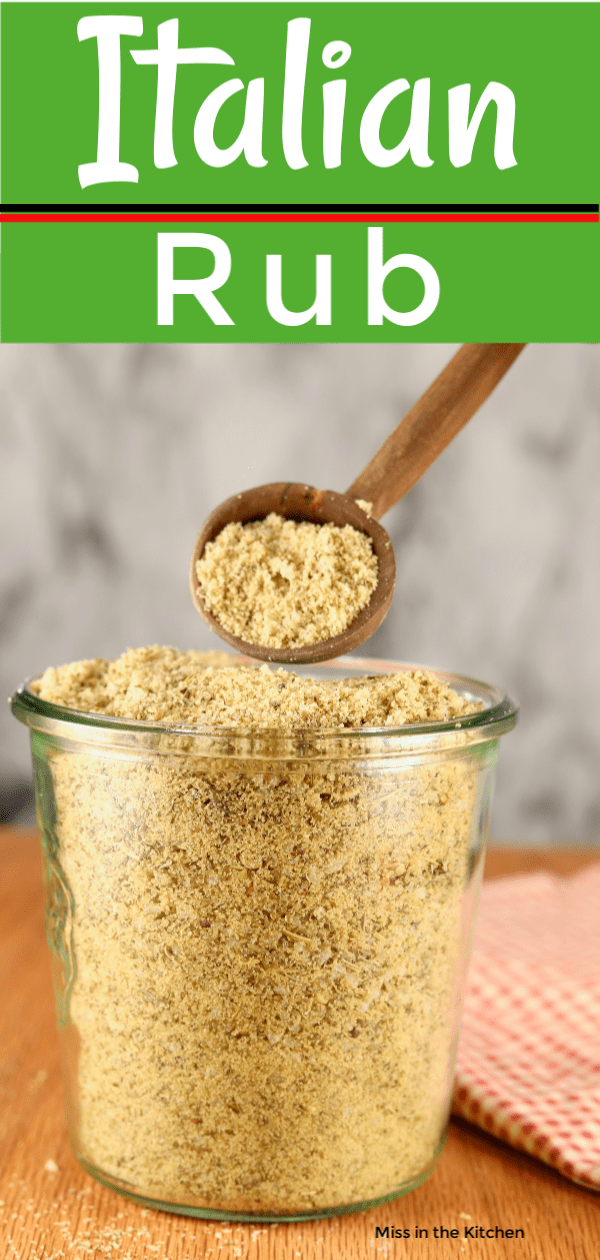 Brown Sugar & Garlic Rub with Italian Seasoning