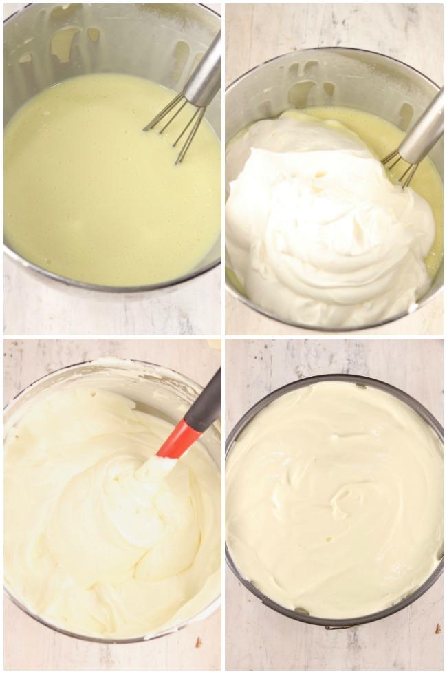 Photo steps for no bake dessert