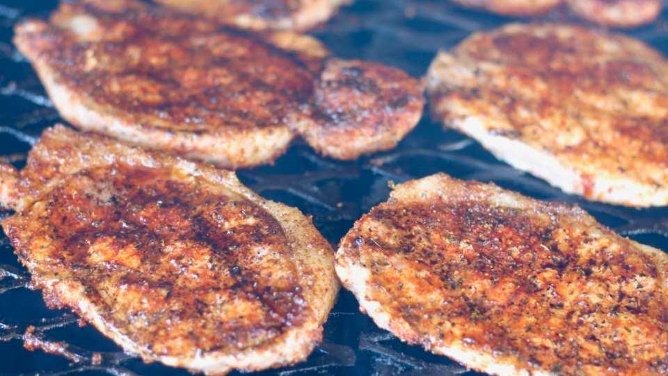Blackened Pork Chops