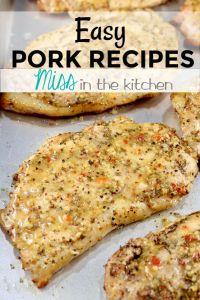Easy Pork Recipes eCookbook