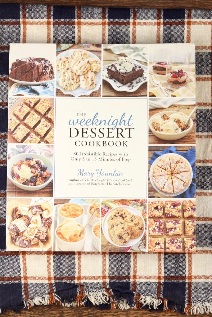 Weeknight Desserts Cookbook Cover