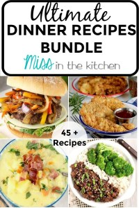 Ultimate Dinner Recipes Bundle of eCookbooks