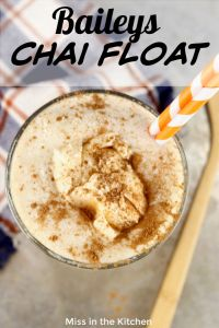 Chai Float Cocktail