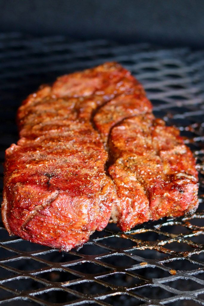 Grilling chuck roast for sandwiches