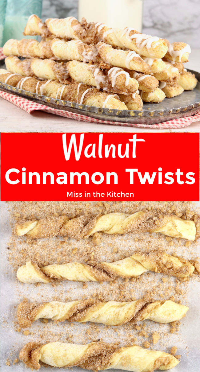 Collage Walnut CInnamon Twists