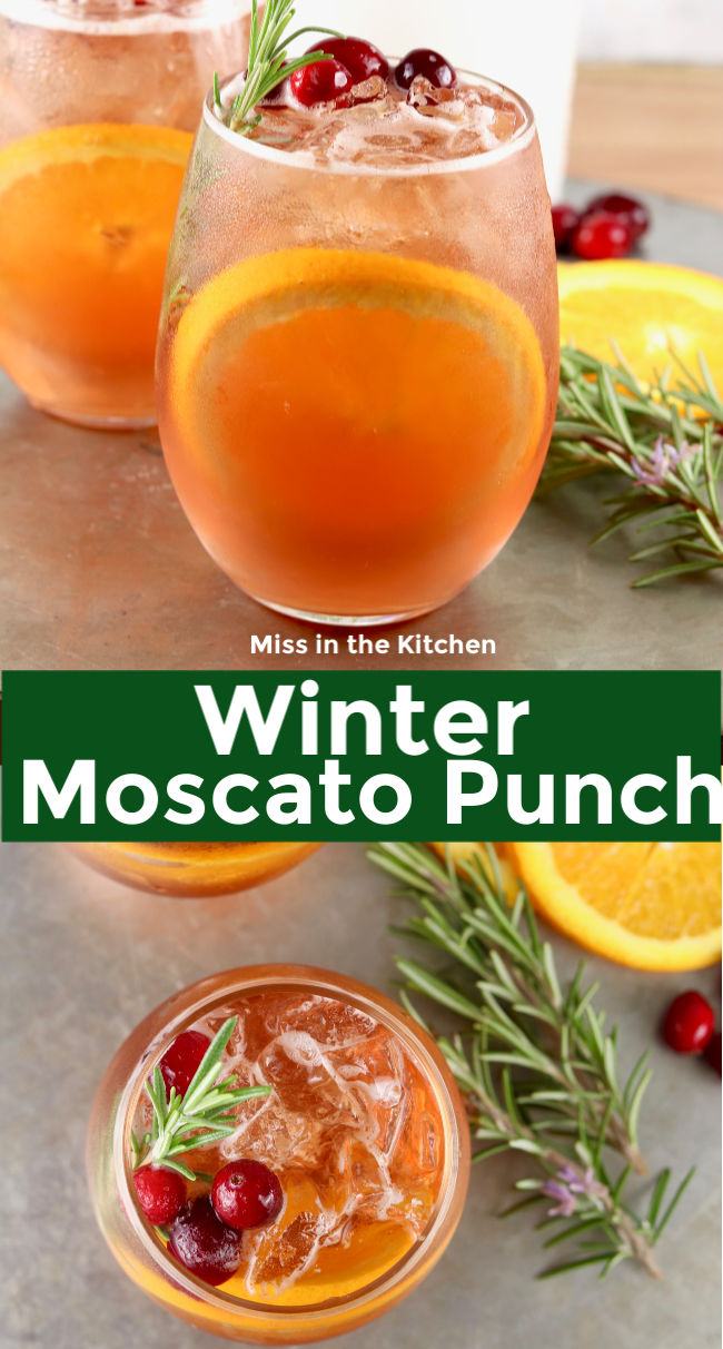 Photo Collage Moscato Punch
