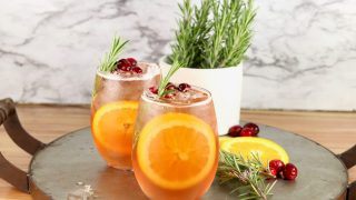Winter Moscato Punch