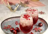 Pomegranate Mimosas Cocktails