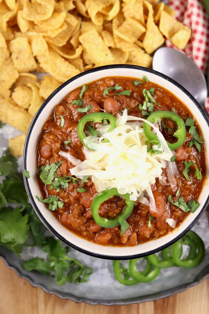 Chili with fritos