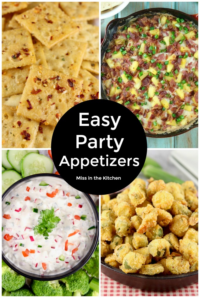 Easy Party Appetizers collage