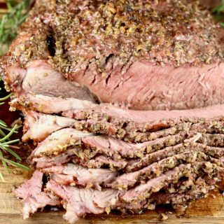 Grilled Herb Crusted Roast Beef