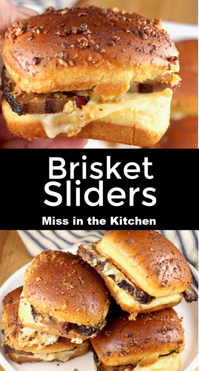 Brisket Sliders collage