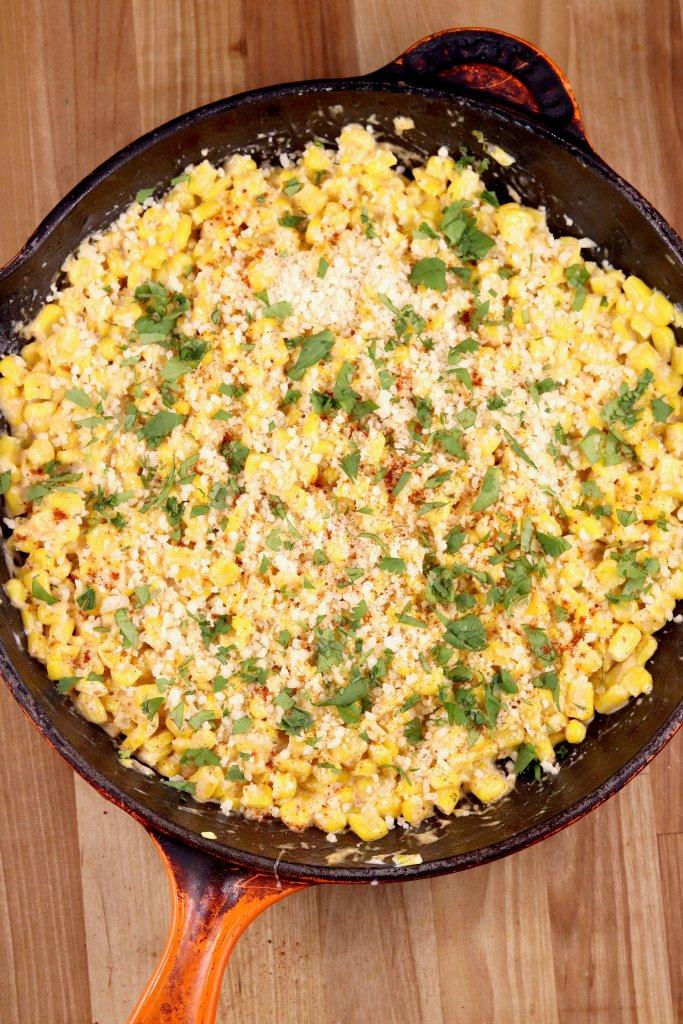 Skillet Street Corn