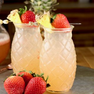 Strawberry Pineapple Wine Punch