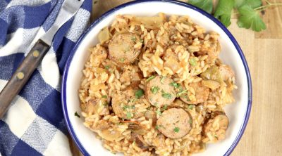 Andouille Rice Skillet