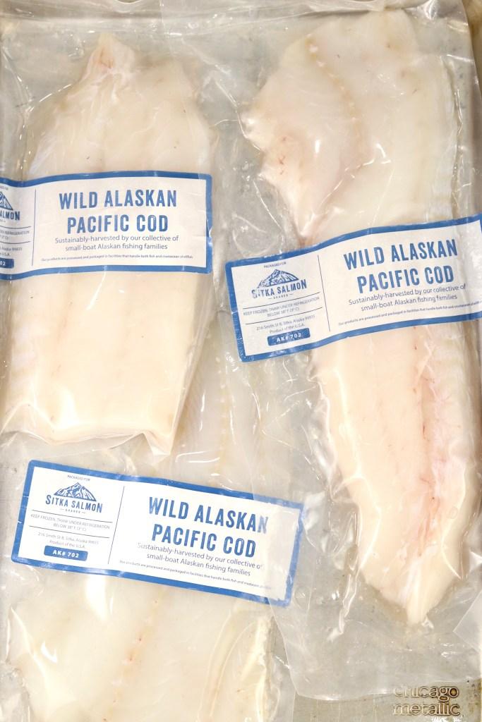 Alaskan Cod Frozen