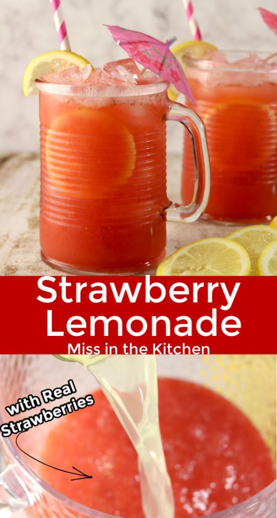 Strawberry Lemonade Collage