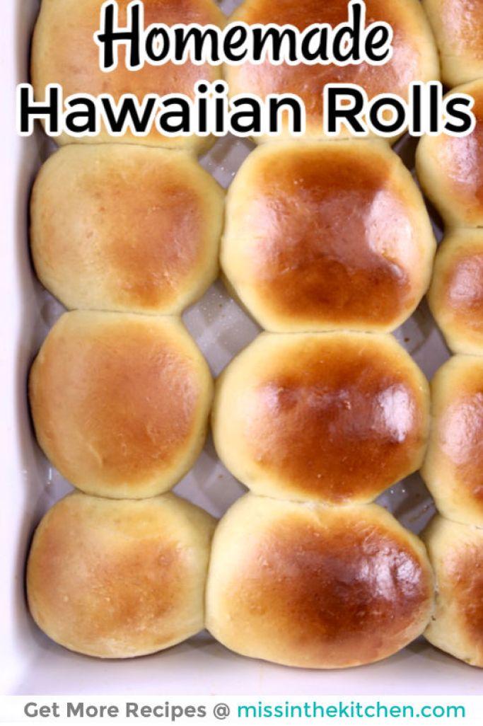 Homemade Hawaiian Rolls