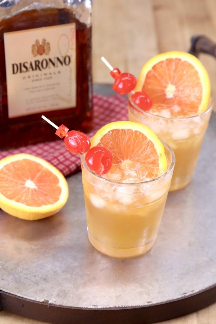 Amaretto Sour with Disaronno Amaretto Liqueur