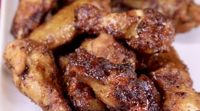 Maple Glazed Chicken Wings