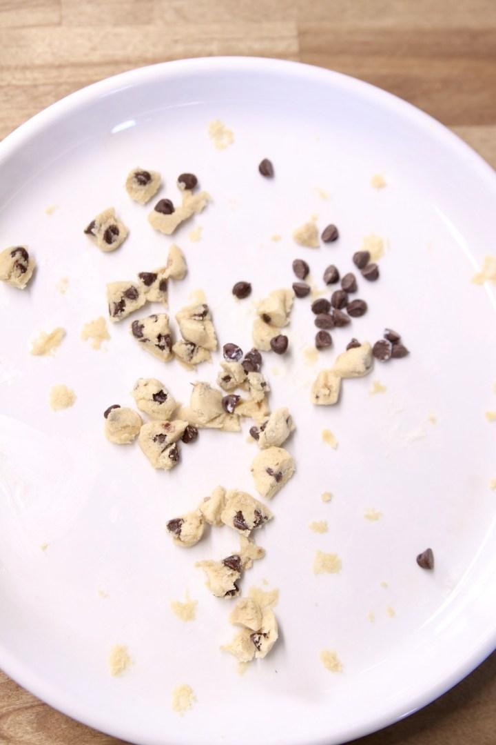 cookie dough crumbles