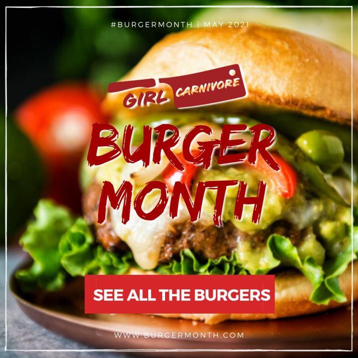 Burger Month 2021 Graphic
