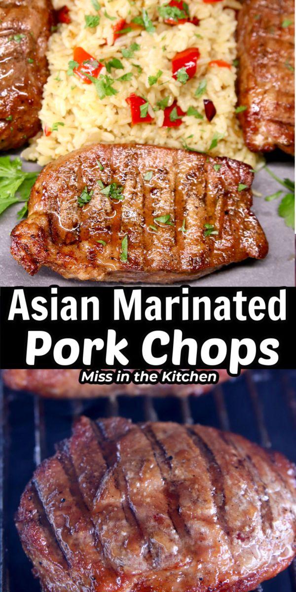 Asian Marinated Pork Chops