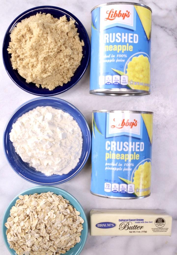 pineapple crisp ingredients