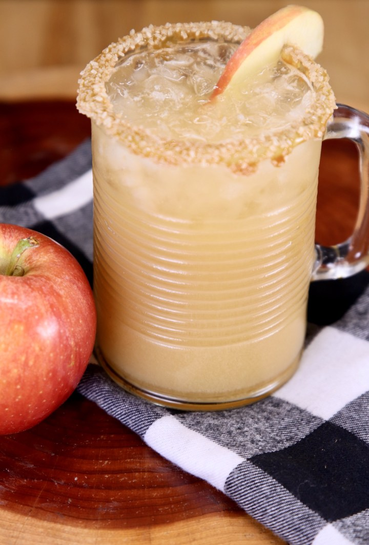 Moscow Mule ~ caramel apple flavor in a glass