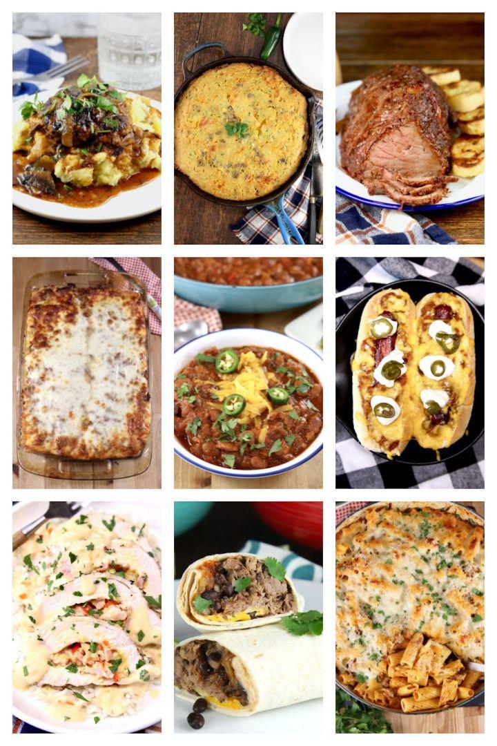 best comfort food collages