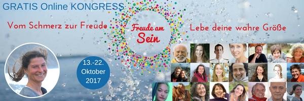 Online Kongress Freude am Sein mit Annette Frauendorf