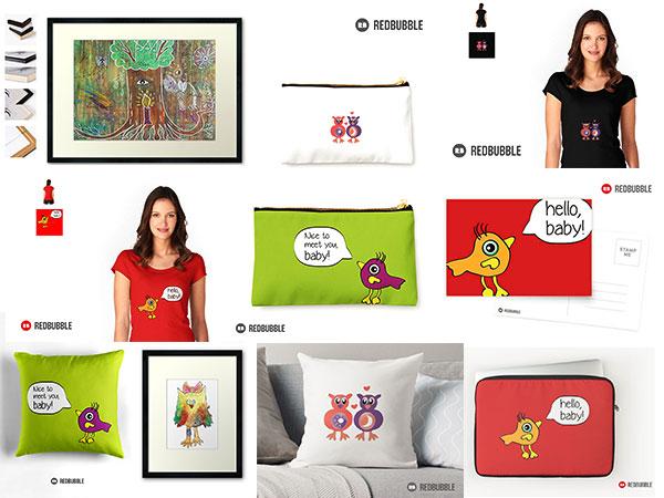 Kreativität leben - Jacqueline-Wesling-Eulenkollektion