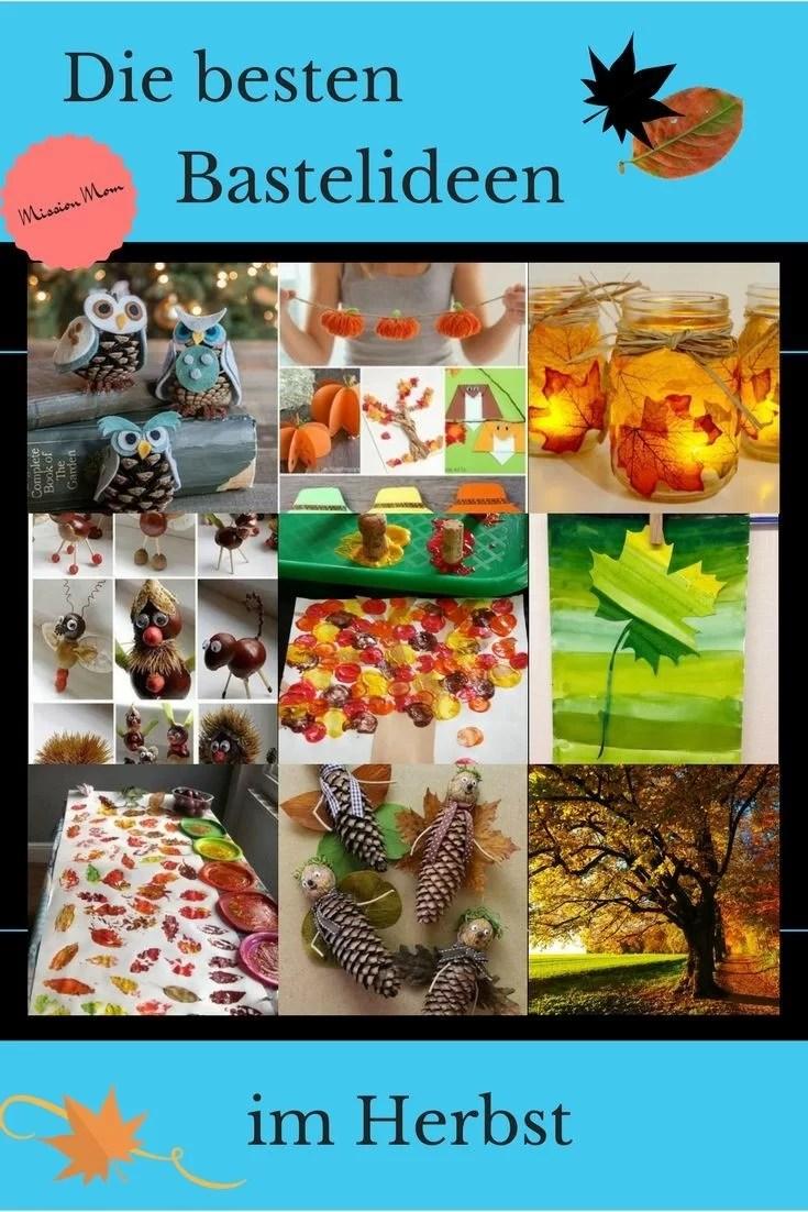 Ansprechend Geschenke Basteln Mit Kindern Bastelideen Ideen Von Im Herbst - Von Naturmaterialien Bis Knöpfe