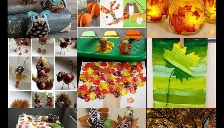 Basteln Im Herbst Mit Kindern Von Naturmaterialien Bis Knöpfe