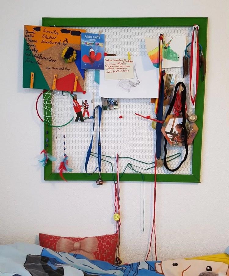 DIY Pinnwand Geschenk basteln – coole Idee einfach umgesetzt