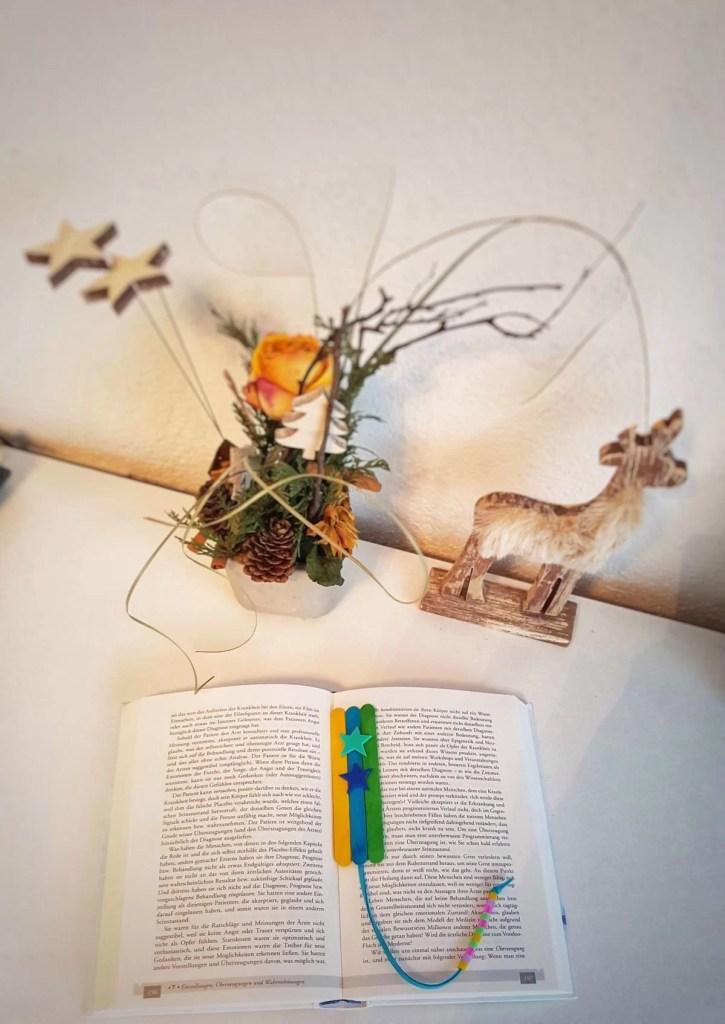 Lesezeichen, Einfaches Lesezeichen basteln mit Kindern-ein tolles Geschenk, Mission Mom