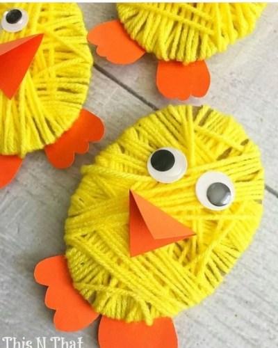 Basteln für Ostern mt Kinder und Kleinkinder