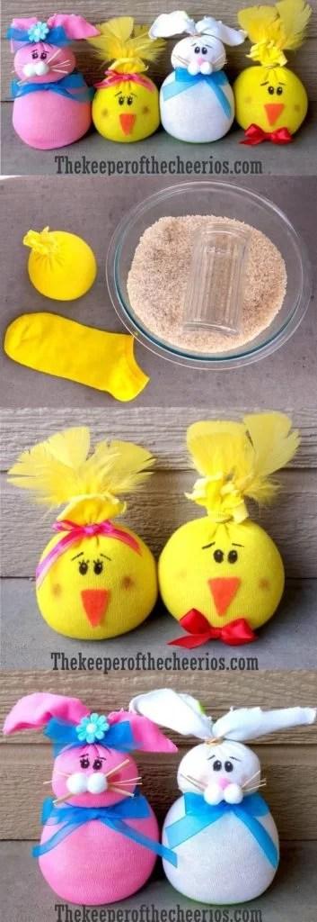 Frühling, Basteln mit Kindern im Frühling und für Ostern, Mission Mom