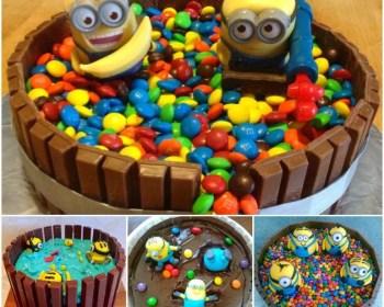 Idee Minion Kuchen