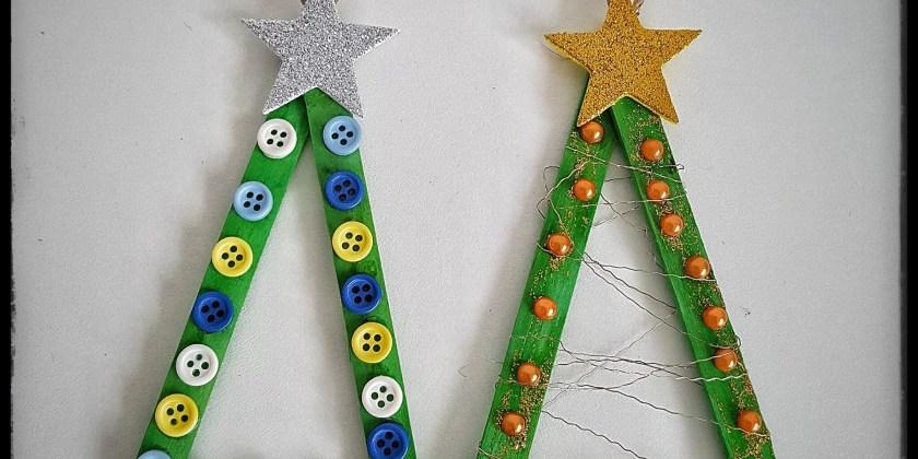 Mit Kindern Basteln Fur Weihnachten Einfacher Baumschmuck Mission Mom