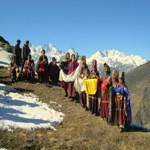Nepal Mission Tourists-are-getting-welcomined SOCIAL TOURISM IN NEPAL