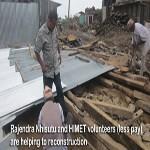 Nepal Mission Rajendra-Nhisutu-and-volunteers VOLUNTEER OPPORTUNITY