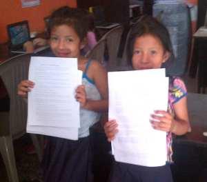 Students who participate in our VETC in Colonia Santa Fe