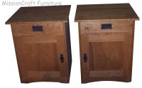 Cabinet Entertainment Center Side Tables - Mission Craft ...