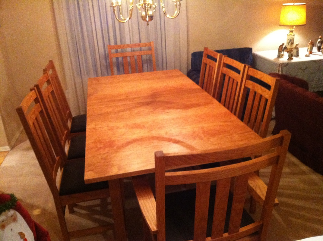 Dining Room Table and Chairs  MISSIONCRAFT FURNITURE